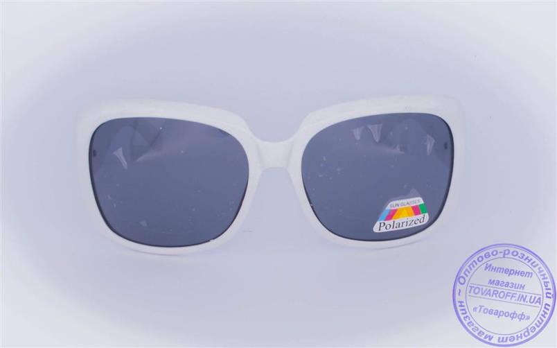 Оптом женские поляризационные солнцезащитные очки - Белые - 959, фото 2