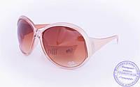 Оптом женские солнцезащитные очки - Бежевые - 5723, фото 1