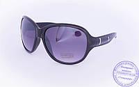Оптом женские солнцезащитные очки - Черные - 5728, фото 1