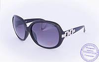 Оптом женские солнцезащитные очки - Черные, коричневые, белые - 7038, фото 1
