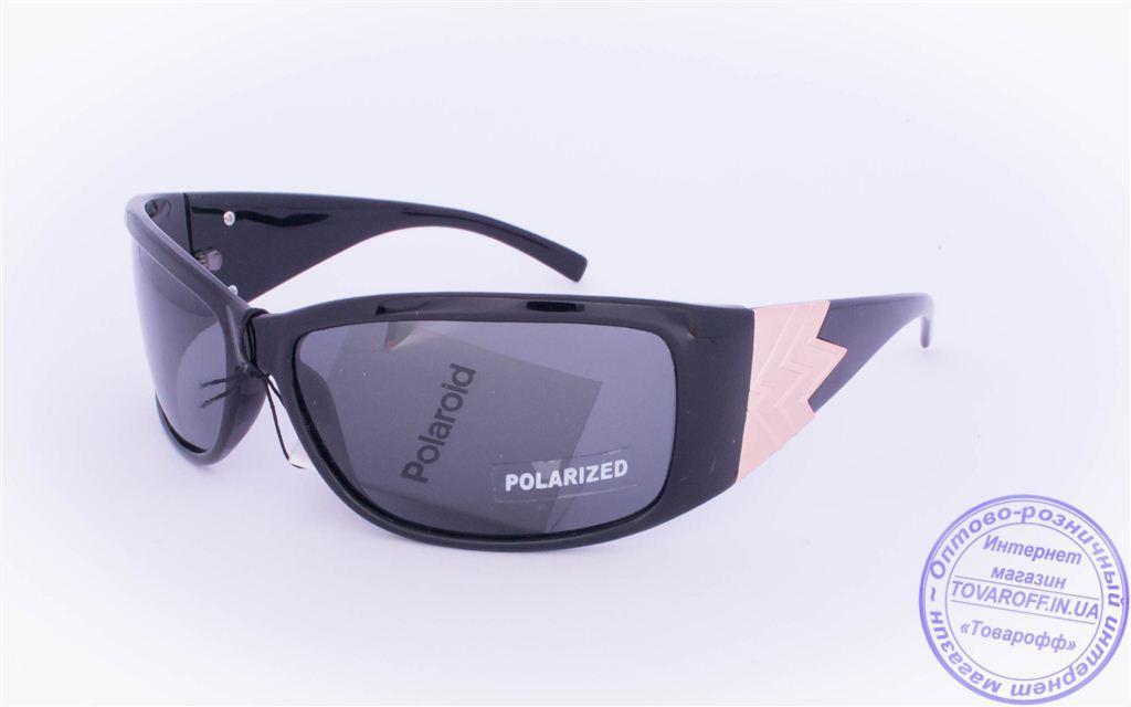 Оптом женские поляризационные солнцезащитные очки - Черные - 8061