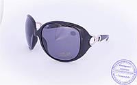 Оптом женские поляризационные солнцезащитные очки - Черные - 8155, фото 1