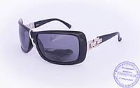 Оптом женские поляризационные солнцезащитные очки - Черные - 8202, фото 1