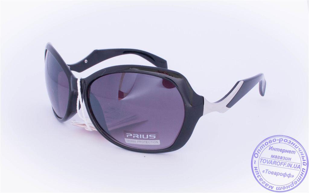 Оптом женские солнцезащитные очки - Черные - 8253