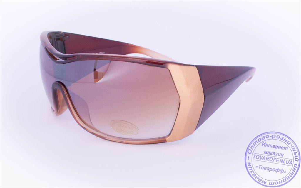 Жіночі сонцезахисні окуляри Оптом - Коричневі - 8841