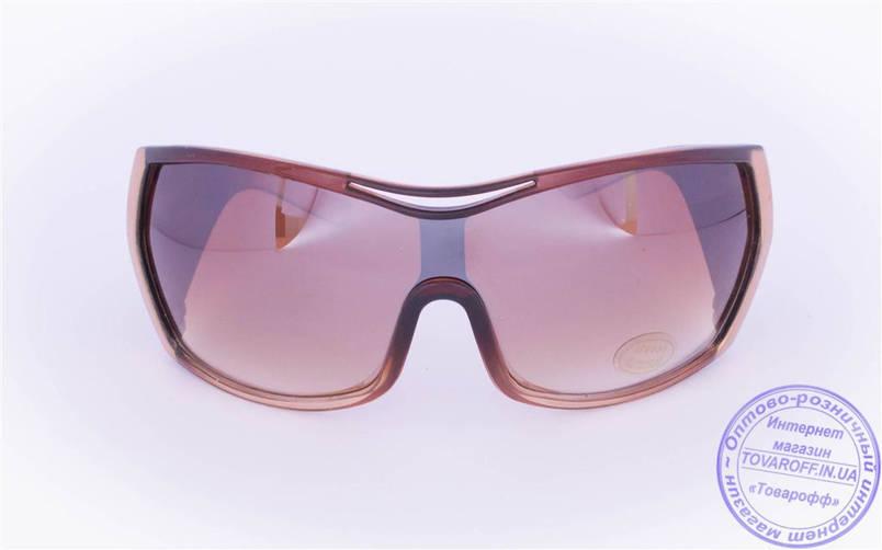 Жіночі сонцезахисні окуляри Оптом - Коричневі - 8841, фото 2