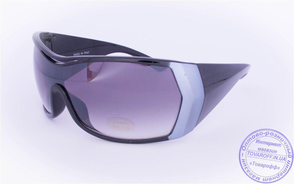 Оптом женские солнцезащитные очки - Черные - 8841
