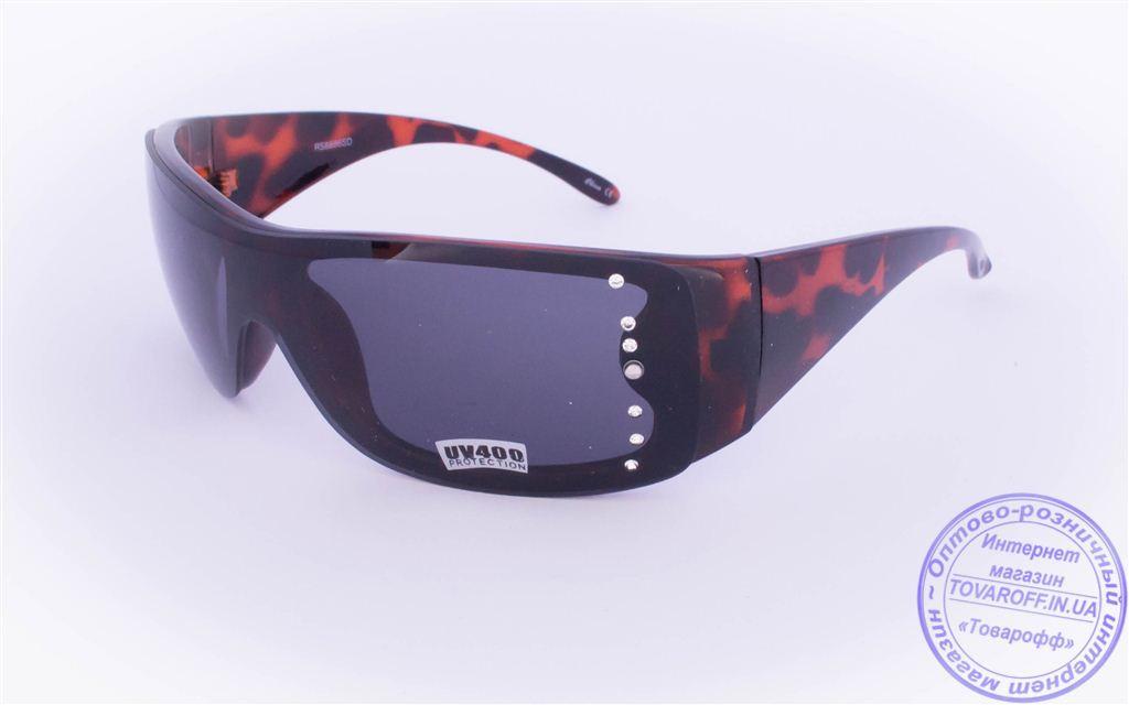 Жіночі сонцезахисні окуляри Оптом - Чорні - 8886