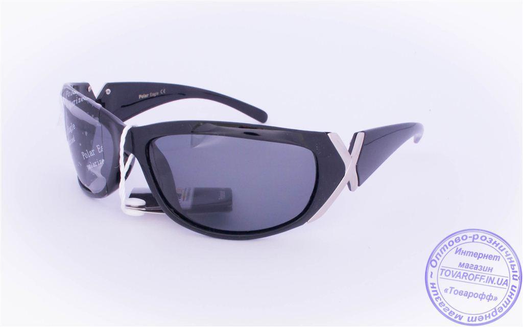 Оптом женские поляризационные солнцезащитные очки - Черные - 2159
