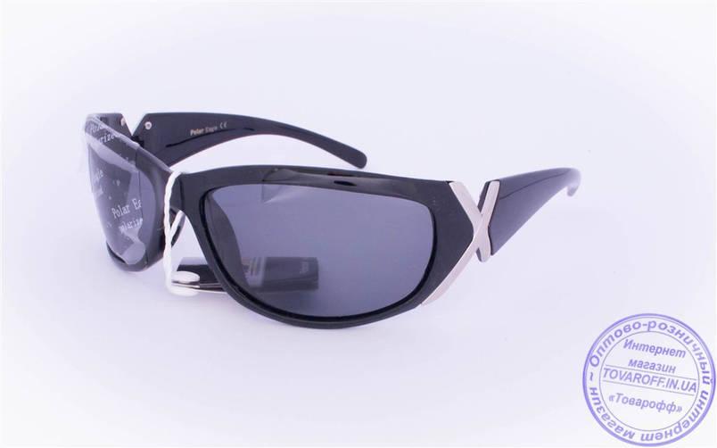 Оптом женские поляризационные солнцезащитные очки - Черные - 2159, фото 2