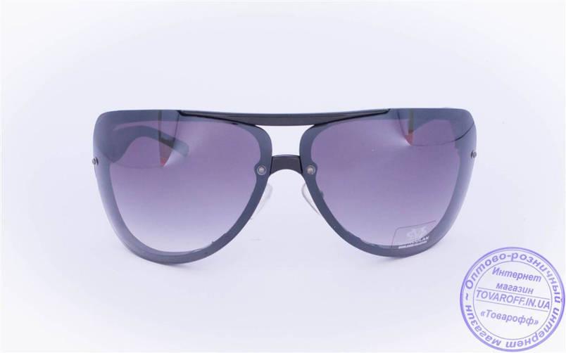 Оптом солнцезащитные очки - Черные - 3084, фото 2