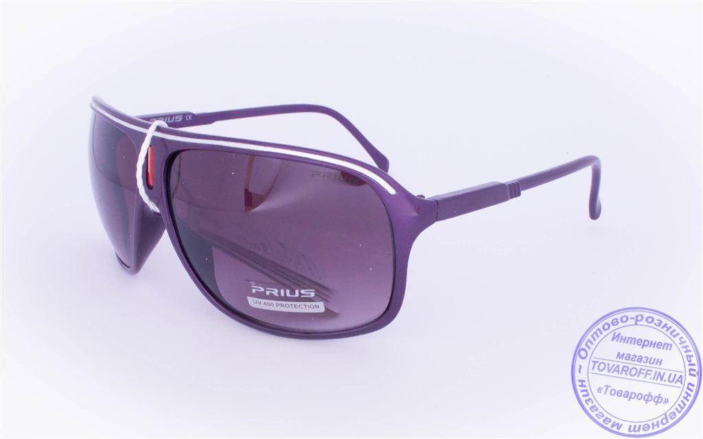 Оптом мужские солнцезащитные очки - Фиолетовые - 3419