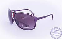 Оптом мужские солнцезащитные очки - Фиолетовые - 3419, фото 1