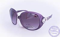 Оптом женские солнцезащитные очки - Фиолетовые - 3499, фото 1