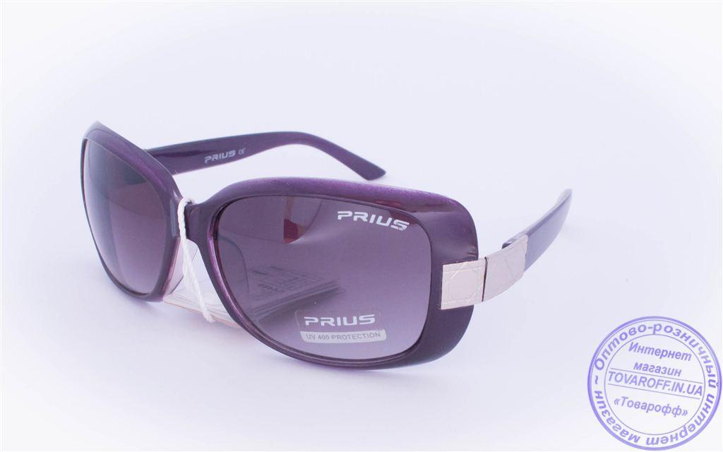 Оптом женские солнцезащитные очки - Фиолетовые - 3502