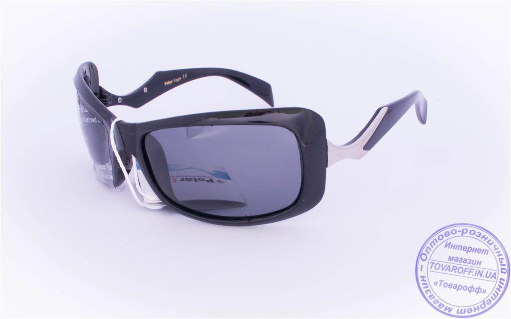 Оптом женские поляризационные солнцезащитные очки - Черные - 5078