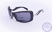 Оптом женские поляризационные солнцезащитные очки - Черные - 5078, фото 1
