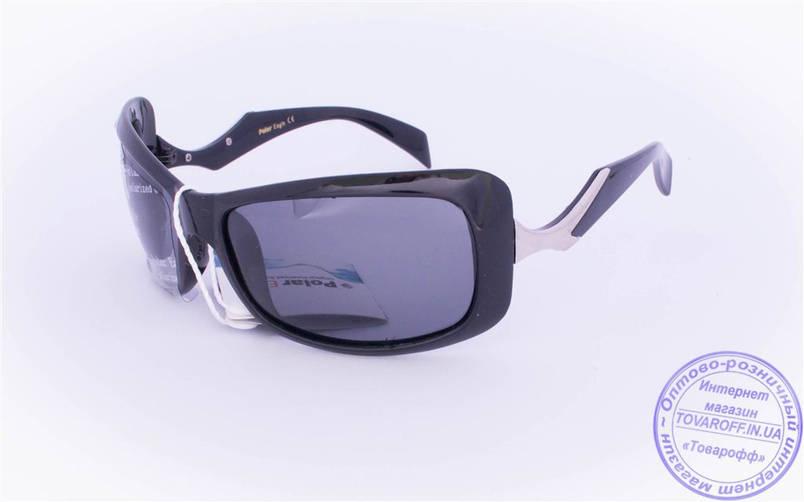 Оптом женские поляризационные солнцезащитные очки - Черные - 5078, фото 2