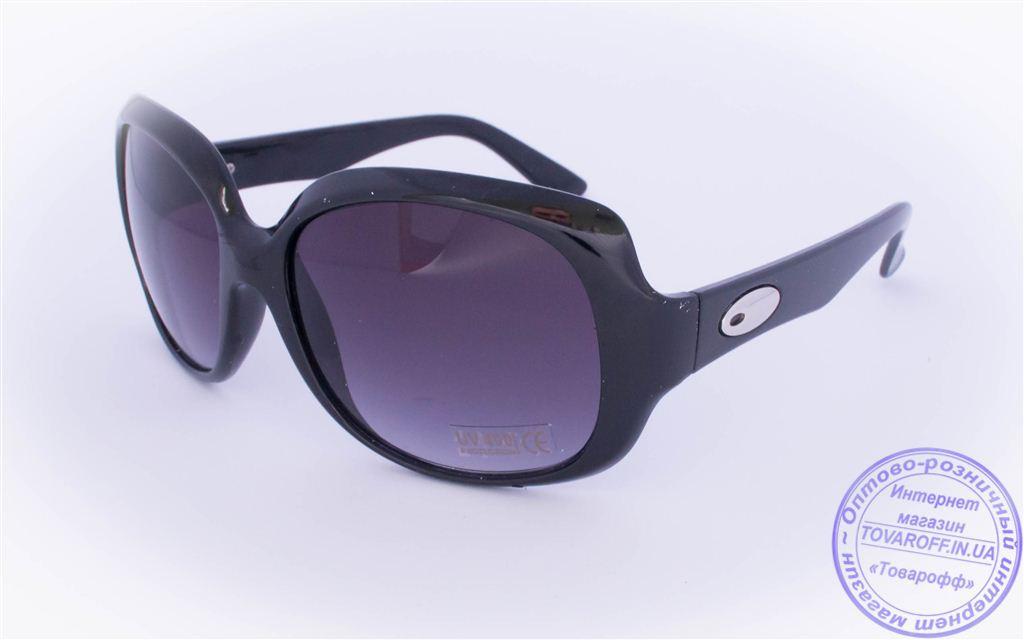 Оптом женские солнцезащитные очки - Черные - 10650