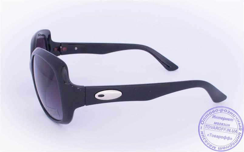 Оптом женские солнцезащитные очки - Черные - 10650, фото 2