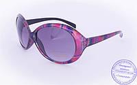 Оптом женские солнцезащитные очки - Розовые - 8910, фото 1