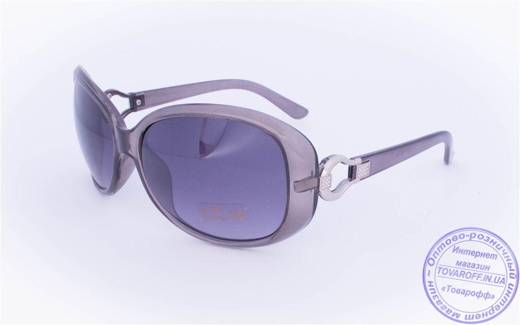 Оптом женские солнцезащитные очки - Серые - 9043-9936