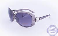 Оптом женские солнцезащитные очки - Серые - 9043-9936, фото 1
