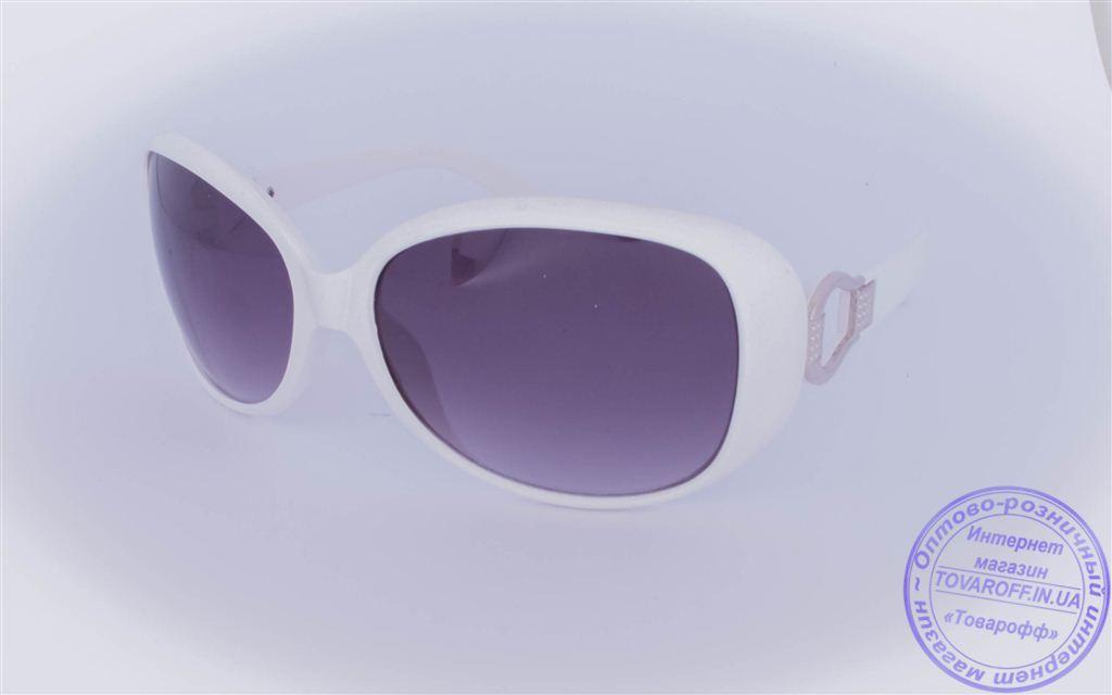 Жіночі сонцезахисні окуляри Оптом - Білі - 9043-9936