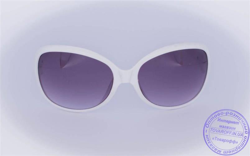 Оптом женские солнцезащитные очки - Белые - 9043-9936, фото 2