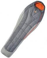 Спальный мешок правый EXPERT 195 серый R BHB Micro