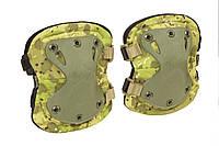 """Налокотники тактические """"LWE"""" (Lightweight Elbow Pads) Камуфляж """"Жаба полевая"""", фото 1"""