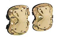 """Налокотники тактические """"LWE"""" (Lightweight Elbow Pads) Multicam, фото 1"""