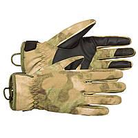 """Перчатки демисезонные влагозащитные полевые """"CFG"""" P1G-Tac® A-Tacs FG, фото 1"""