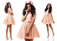 Платье «Зефир» из фукры 3 цвета