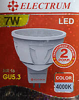 Electrum Led MR16 GU5.3 7w 4000K