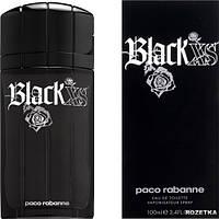 Мужская туалетная вода Black XS Paco Rabanne (противоречивый несдержанный аромат)
