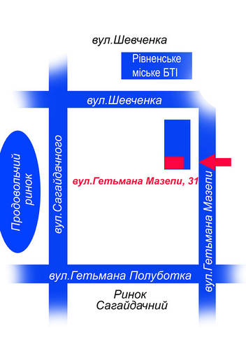 Схема проїзду