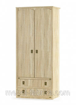 """Шкаф """"Валенсия"""" 2Д2Ш  Мебель-Сервис"""
