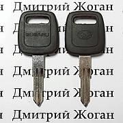 Ключ для SUBARU (Субару) лезвие NSN11 с упорами, с чипом 4D62