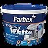 "Краска для стен и потолков белоснежная Farbex ""Brilliant White"" 1,4 кг"