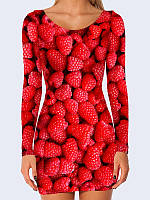 Платье Ягоды малины