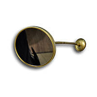 Бронзовое увеличительное зеркало на гибком шланге Pacini & Saccardi Oggetti Appoggio 30153