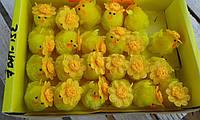 Пасхальные украшения цыплята