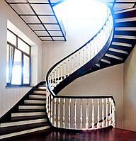Лестницы на деревянном каркасе