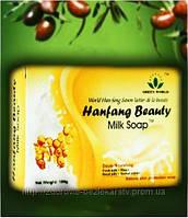 Оливково-молочное мыло антибактериальное