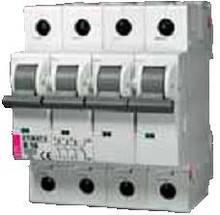 Автоматический выключатель ETIMAT 6  3p+N B 6А (6 kA)