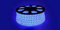 LED лента 3528 синие диоды бухта 100m