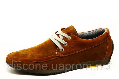 Спортивные туфли Gekon 54 Comfort, мужские, натуральная замша, рыжие