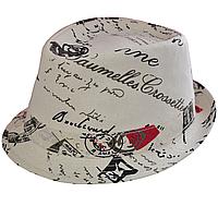 """Шляпа Джокер комби """"Письмо""""."""
