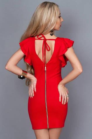 Платье с коротким рукавом и замком на спине, фото 2